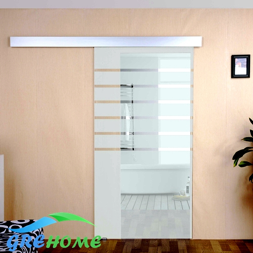 Global free shipping 6 6 ft aluminium alloy glass interior for Six foot sliding glass door