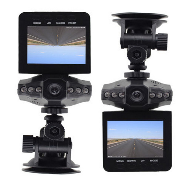 """1pc LED Night Vision Car Camera Recorder Lowest Price, free shipping wholesale car dvr ,2.5"""" LCD Screen ,6 IR Newest(China (Mainland))"""