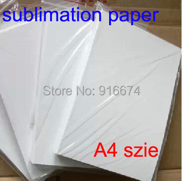 Free shipping Cheap High quality 100 sheets A4 tansfer paper sublimation paper For mug glass rock for heat press machine(China (Mainland))