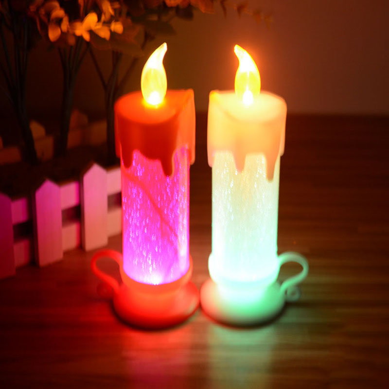 Christmas ribbon decoration picture more detailed picture about 2015 new year electronic - Appealing christmas led candles for christmas decorations ...