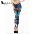 Fashion Gothic Digital Print Women Leggings Autumn Winter New 3D Sexy Skinny leggins
