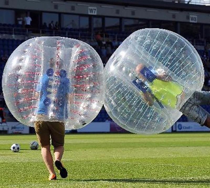 1.2m/1.5m 3 color PVC Air Bumper Ball Body Zorb Ball Bubble football Bubble Soccer Zorb Ball(China (Mainland))