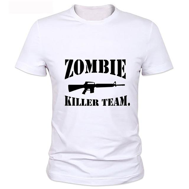 The Walking Dead T-Shirt – Funny Zombie Minions Men Regular Tee