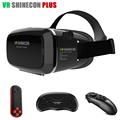 2016 Original VR Shinecon Plus Pro Google Cardboard Helmet VR BOX Headset for 4 6 phone