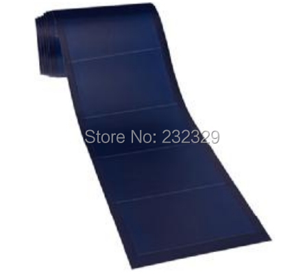 Thin film flexible solar panel on boat 144W , high efficiency suitable for solar home system good performance at low light.(China (Mainland))