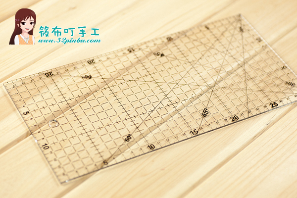 Free Shipping 1 Pcs Patchwork Ruler 15 * 30cm Thick Acrylic Material 3mm Round Handmade Diy Essential Tool Applicable<br><br>Aliexpress