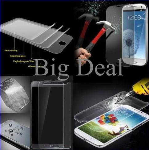 50PCS Original Screen Film Premium Tempered Glass For Samsung Galaxy i8190 S3mini Protective Anti-explosion Screen Protector