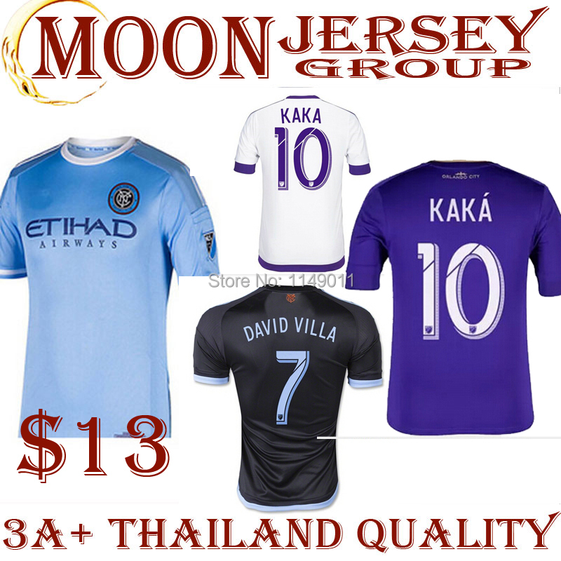 Гаджет  NYCFC 2015 New York City FC Soccer Jersey 14 15 DAVID VILLA LAMPARD Home Sky Blue Away Black New York City Football Shirt Custom None Спорт и развлечения