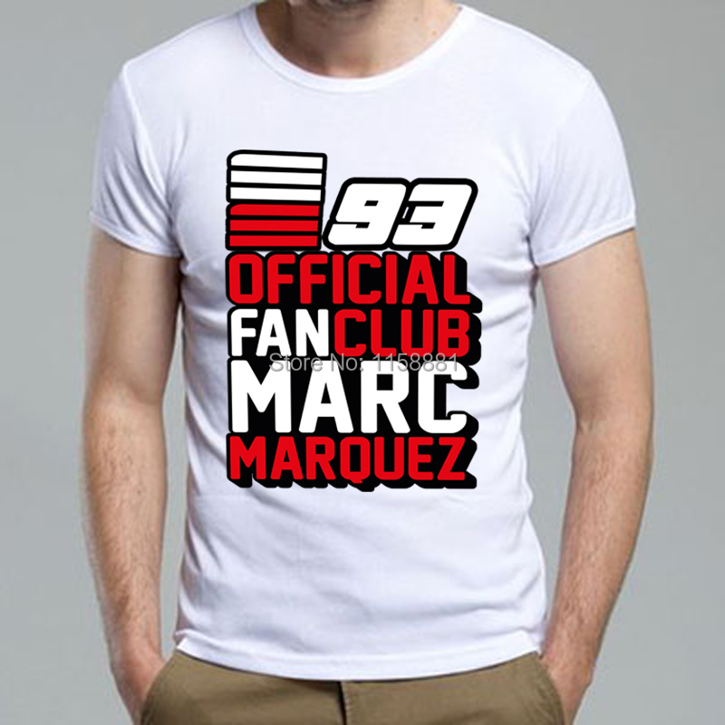 Marc marquez 93 motogp logo shirt custom print for Custom printed dress shirts