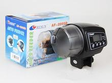 NEW Design 2in1 LCD Automatic Aquarium Safe Fish Feeder Food Fish Tank Auto Timer Pet Feeder Up to 100g With Original Box(China (Mainland))