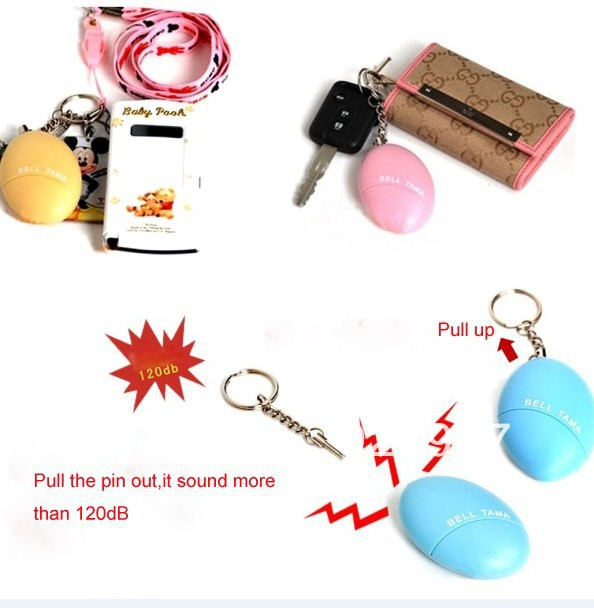 New fashionable personal protection system loud sound alarm(China (Mainland))