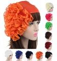 Gorgeous Lady big chiffon Flower Headband Hairband Bride chest flower multifunction headwear