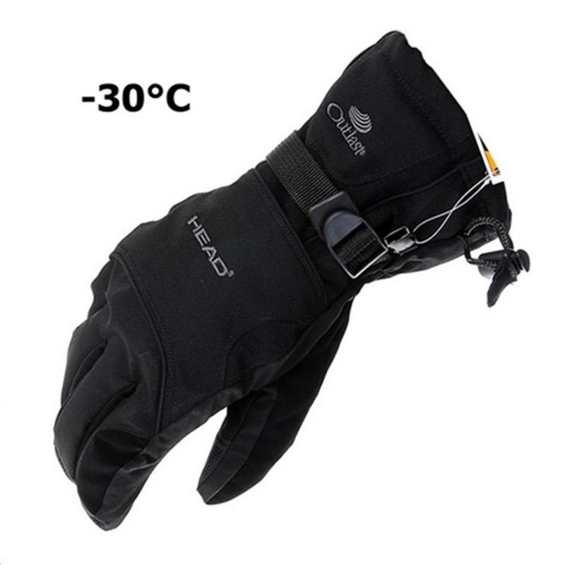 2016 New Men's Ski Gloves Snowboard Gloves Snowmobile Motorcycle Riding Winter Gloves Windproof Waterproof Unisex Snow Gloves(China (Mainland))