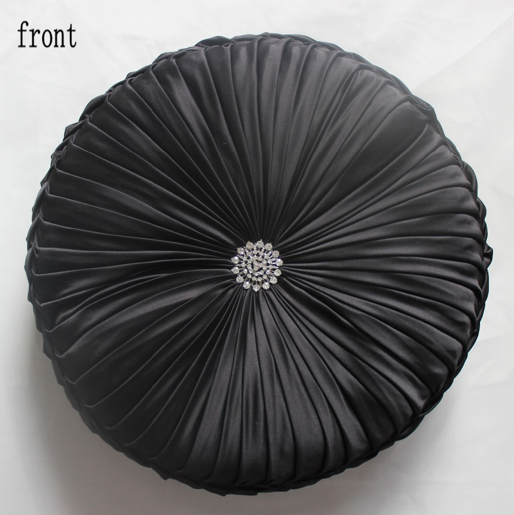 Decorative Pillows Round : Aliexpress.com : Buy VEZO HOME decorative black sofa round cushion throw pillows seat chair home ...