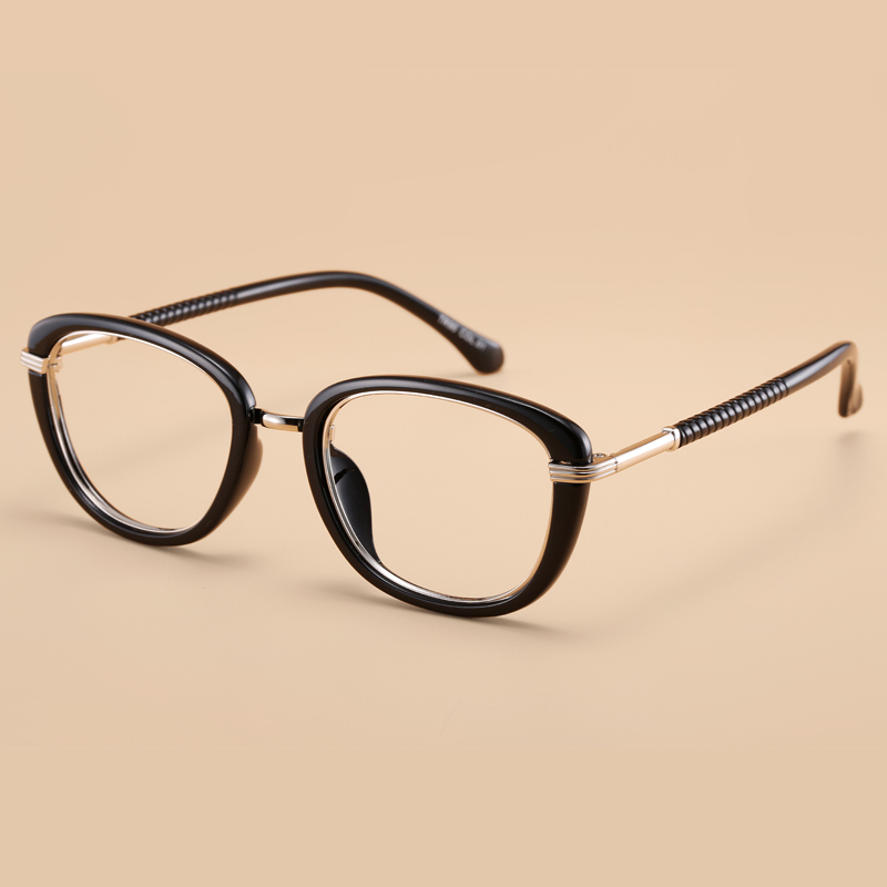 Buy 2016 New Fashion Korean Brand Design Women Female Retro Tr90 Eyeglasses