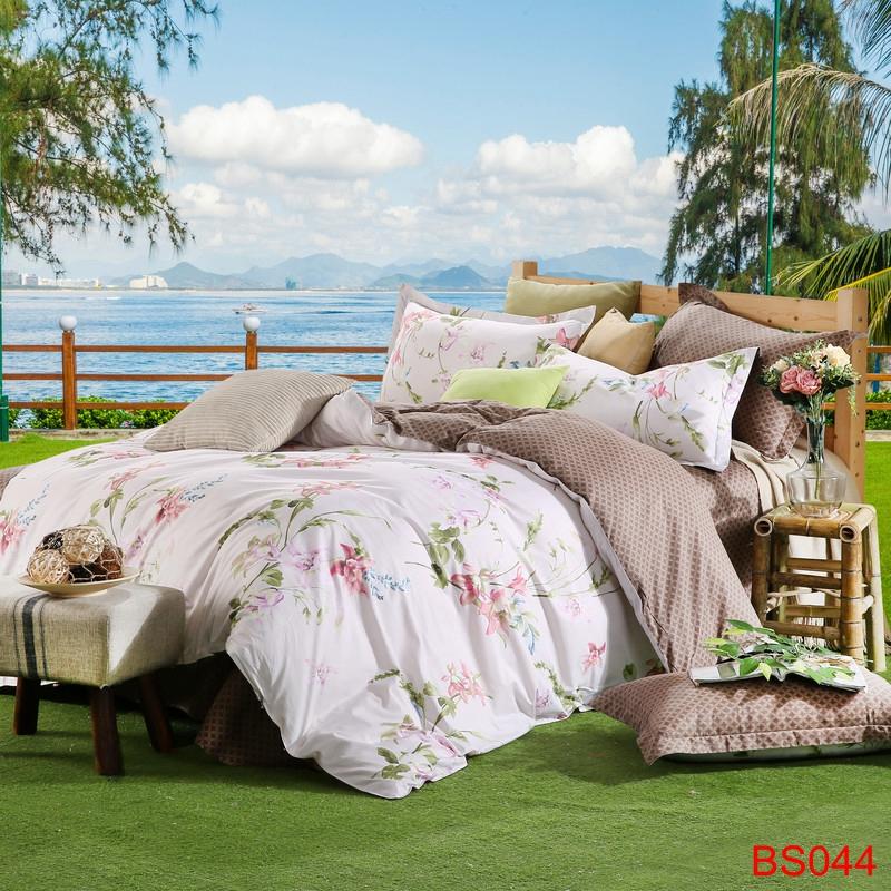 2016 summer 4pcs bedding set super king size bedding set. Black Bedroom Furniture Sets. Home Design Ideas