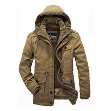 Men Army Jackets plus size 4XL AFS JEEP Brand 2017 Hot cost outerwear mens for Warm Winter Jacket Men Coat Waterproof Windproof(China (Mainland))