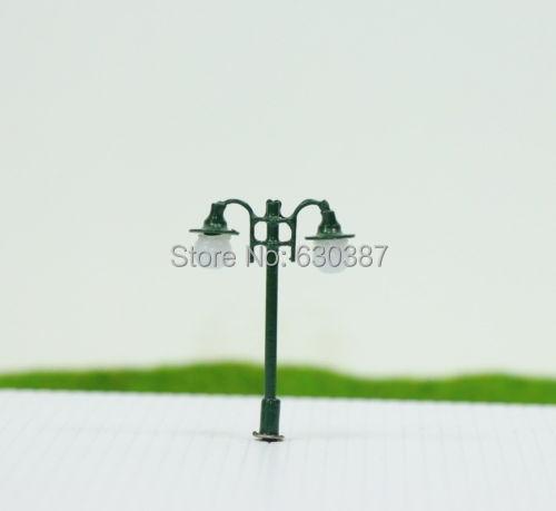 L006N 10pcs Model Railway Lamppost lamps Street Lights N Scale 12V NEW(China (Mainland))