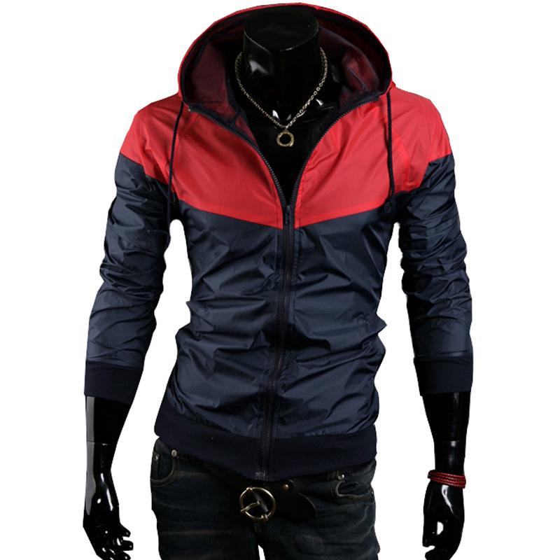 2015 New Style Fashion Sport Jacket Coats Men Hooded ...