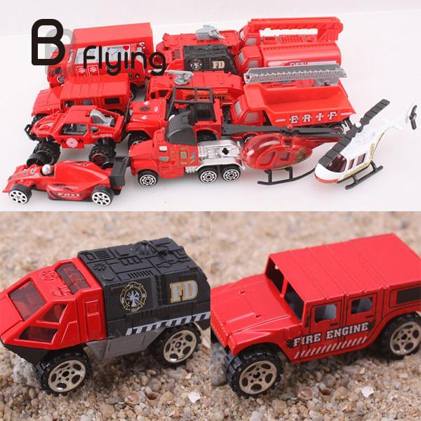 16 Pieces Cars 1:64 Plus Trucks Diecast Model Voiture Cars Kits Toy Mini Toys For Kids Children Play Gift Toys(China (Mainland))