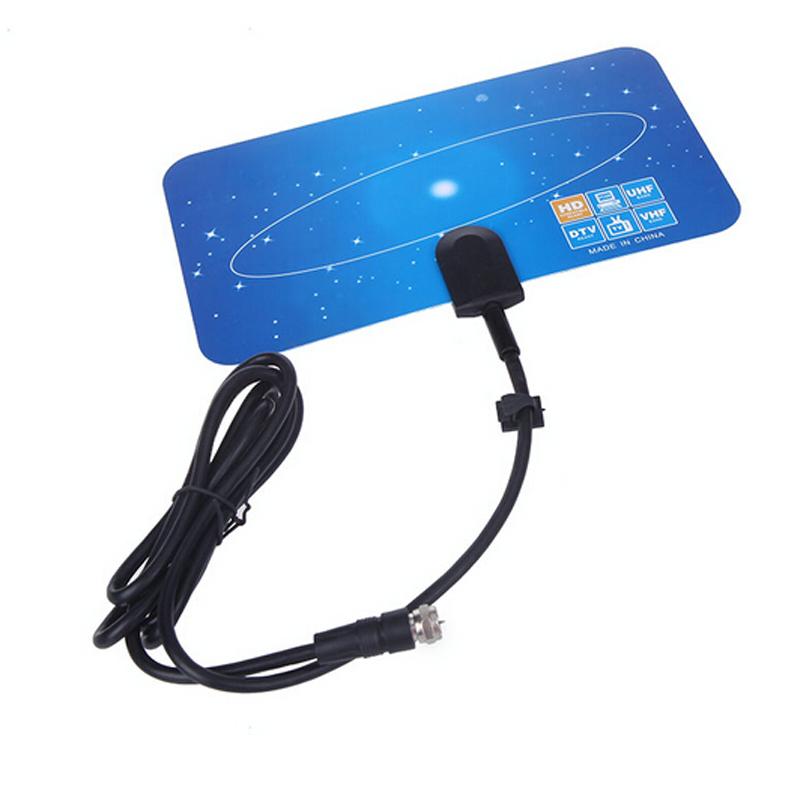Digital Terrestrial Signal USA Mexico Canada North America ATSC Set Top BOX Convertor Tuner RECEIVER + 3m 10ft UHF VHF Antenna
