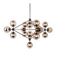 Ecolight Art Deco Modo Chandeliers 15 Lights Amber Glass E26 E27 Living Dining Room Foyer Parlor