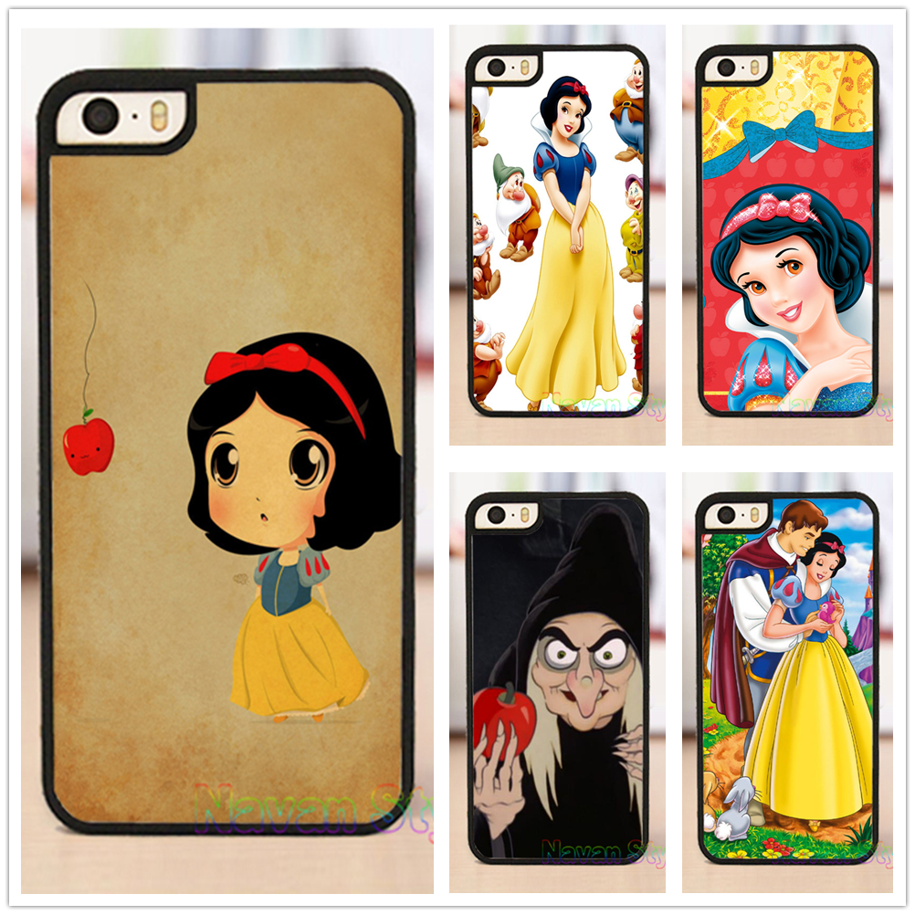 branca de neve Snow white top selling cell phone case cover for iphone 4 4s 5 5s se 5c 6 6 plus 6s 6s plus 7 7 plus*#G3959BR(China (Mainland))