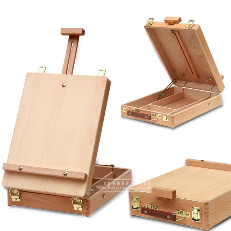 Fillet desktop caballete box easel painting hardware - Escritorio para escribir ...