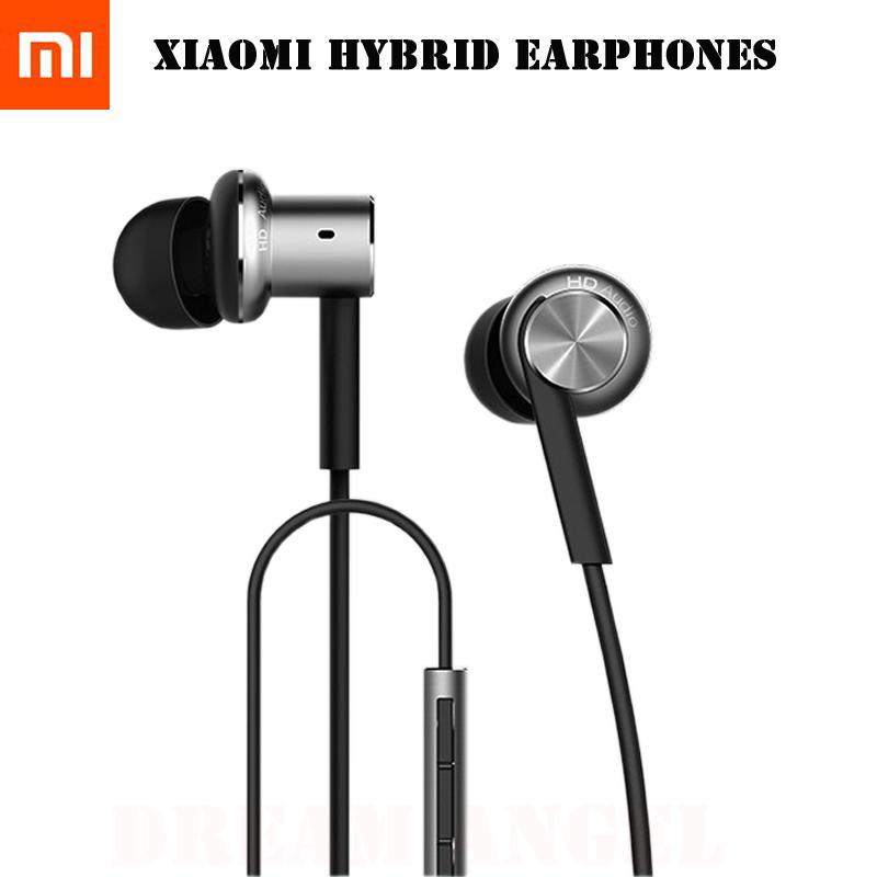 Newest 2015 Original Xiaomi Mi Hybrid Earphone, Mi In-Ear Headphones Pro, Xiaomi Mi multi-unit circle iron mixed Piston 4(China (Mainland))