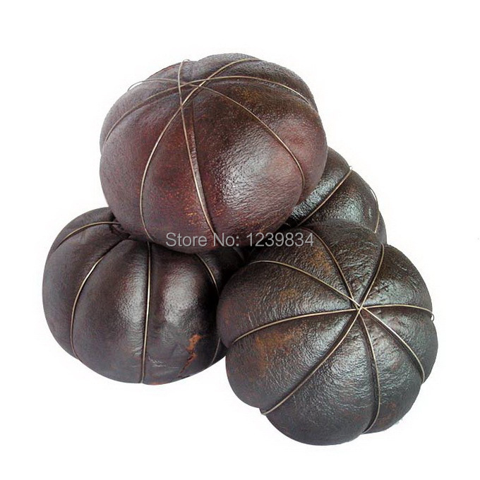 4pcs dried Grapefruit Puer Tea grapefruit puerh tea pu er tea mardine puerh tea Harmonizing intestine