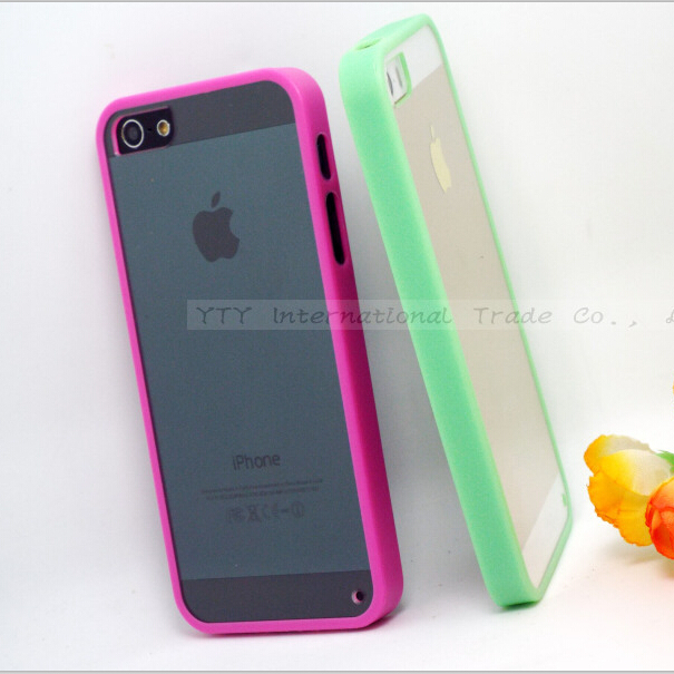 5/5S SE 4'' Transparent Cases Cover Apple iPhone 5 5S Case iPhone5S Phone Shell 2016 Newest - Mobile Accessories/Case And Mp3 Store store