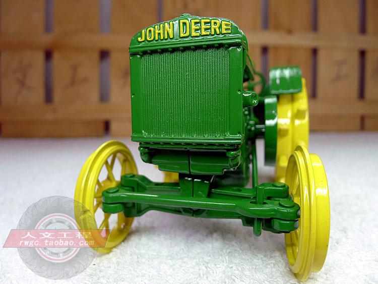 KNL HOBBY J Deere Mannequin D tractor metallic wheel farm automobile mannequin items US ERTL 1:16