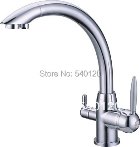 Best selling 3 in1 kitchen faucet three way tap for water for Best selling kitchen faucet