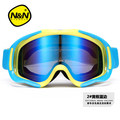 Shipping free brand ski goggles 2 double lens anti fog antiUV nearsightedness spherical snowboard glasses skiing