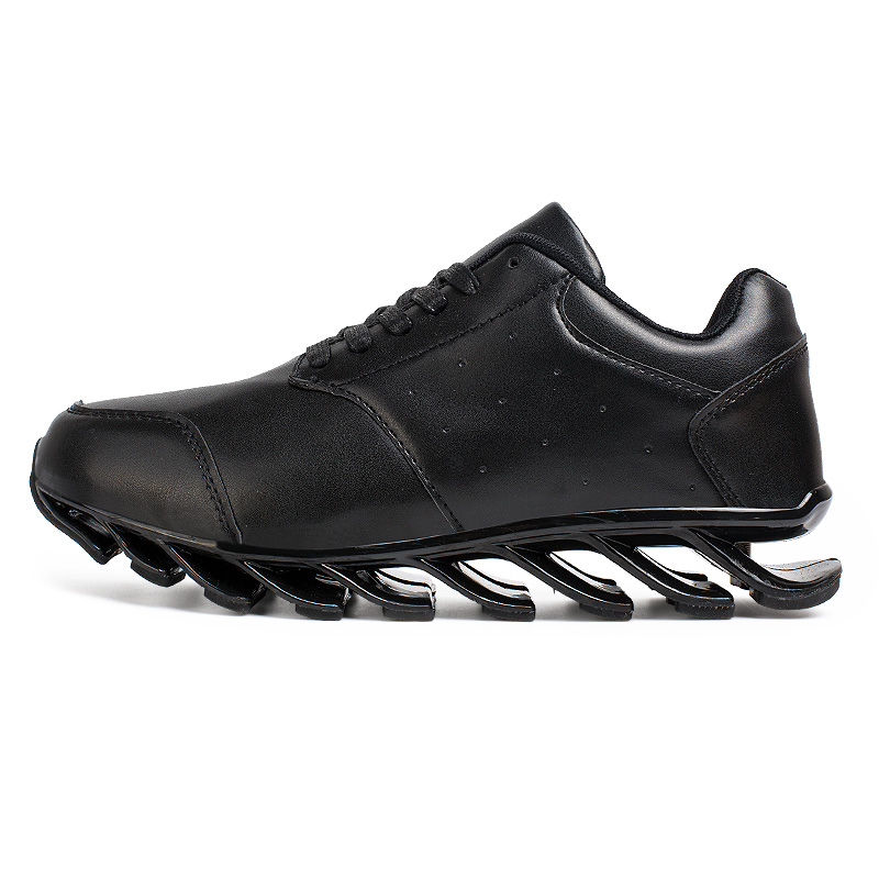 2016 black running shoes for breathable microfiber