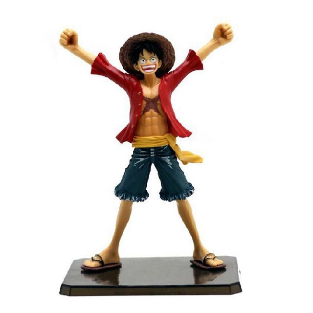 """6 """" One Piece луффи после 2 лет новом свете пвх фигурку коллекция модель без оригинальной коробке бесплатная доставка"""