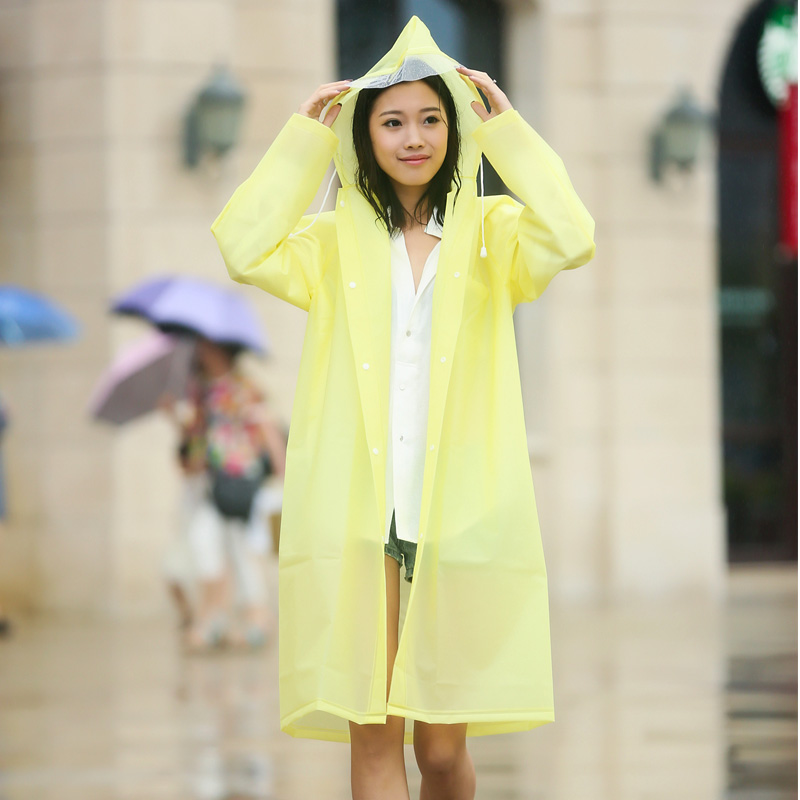 Raincoat Outdoor Adult Long Section of Men and Women ...