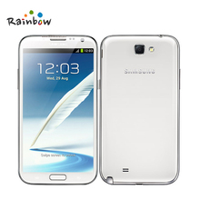 Buy Original Samsung Galaxy Note 2 N7100 Mobile phone Quad Core 2GB RAM 16GB ROM Unlocked 3G Refurbished Mobile Phone for $126.99 in AliExpress store