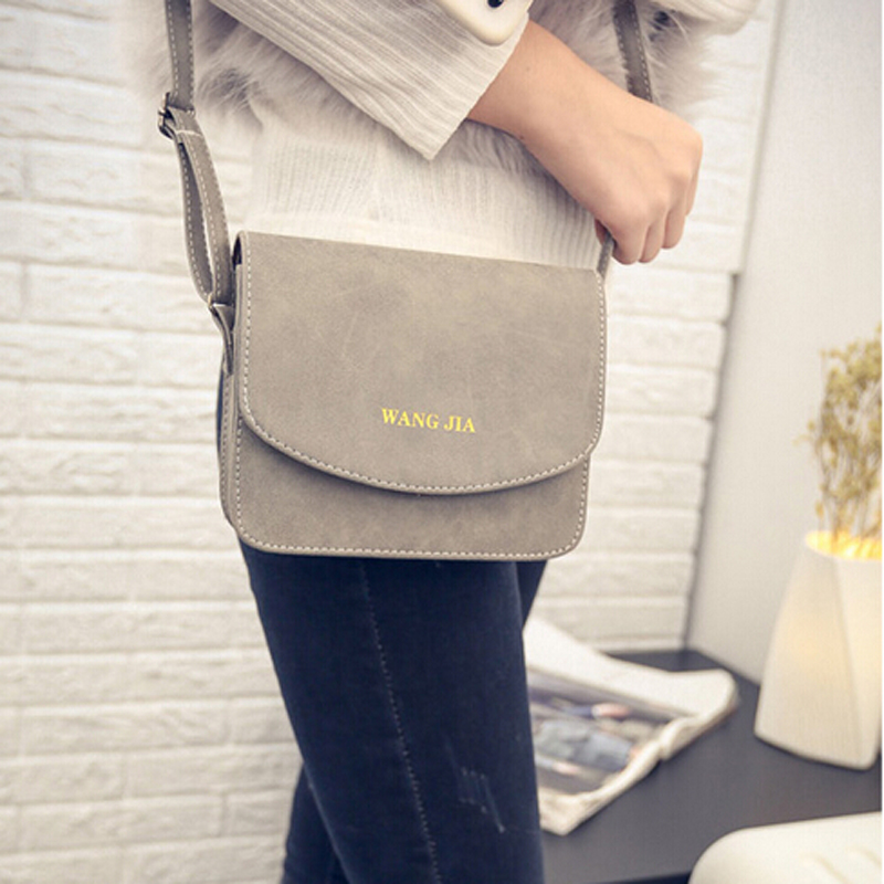 2016 the new foreign trade manufacturers selling fashion PU leather shoulder bag lady frosted small handbag women messenger bags(China (Mainland))