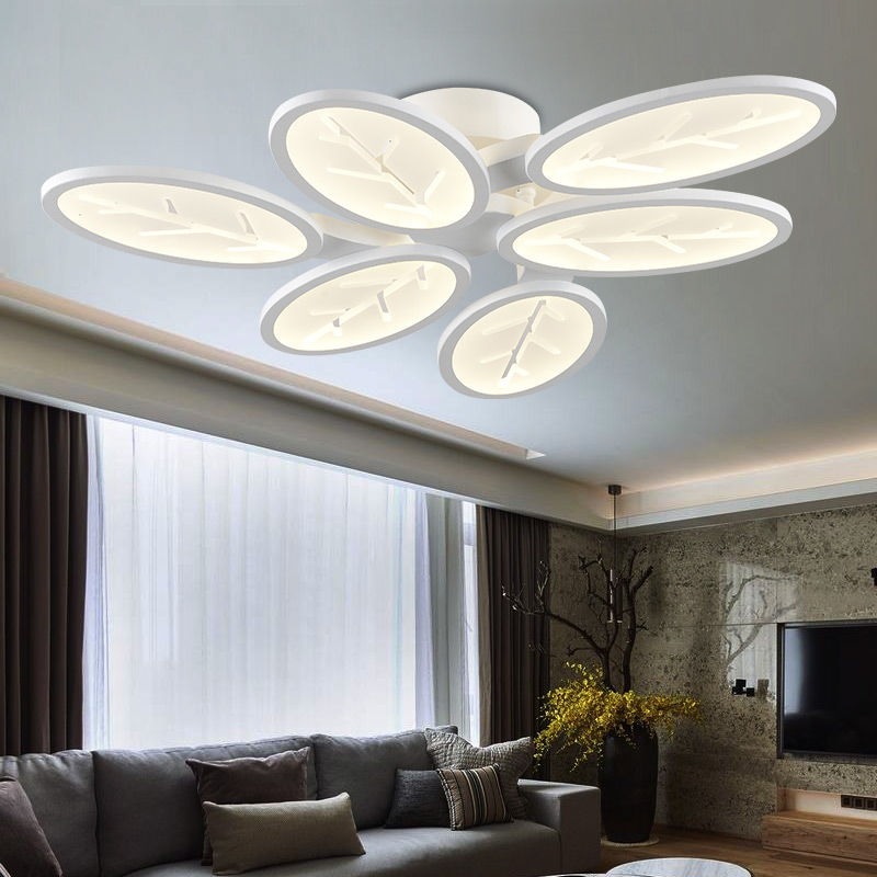 Ceiling Light Fixture Dining Room : Surface mounted modern led ceiling lights for living room