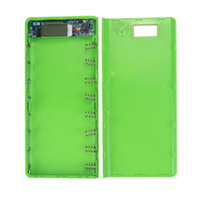 Best Price 5V 3A Dual USB 18650 Power Bank Battery Box Charger For iphone6 Plus S6