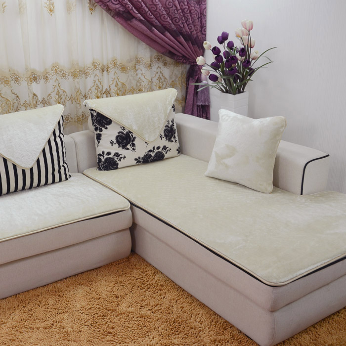 Sofa cover Custom non slip plush sofa cushion Continental