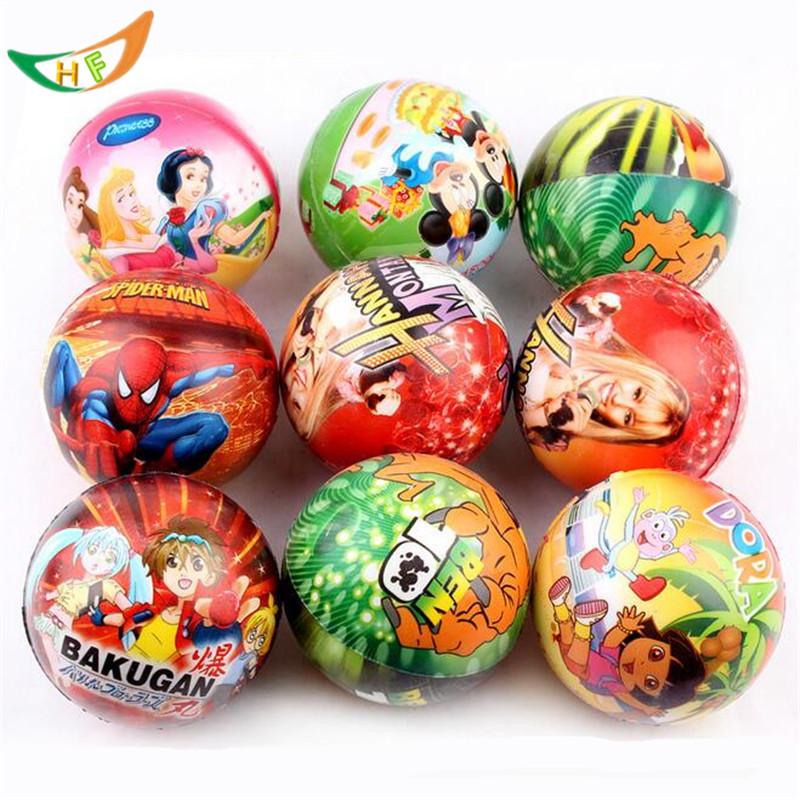 PU printing anime Sponge anti stress ball bouncy antistress toy ball caomaru science vent toys Children funny gadgets gift(China (Mainland))