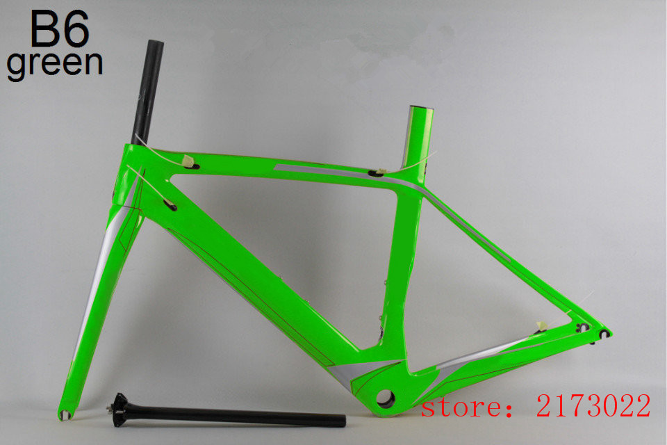 road bike frame wholesale price good quality XS/S/M/L/XL bsa/bb30 many colors options carbon fame road customizable DIY(China (Mainland))