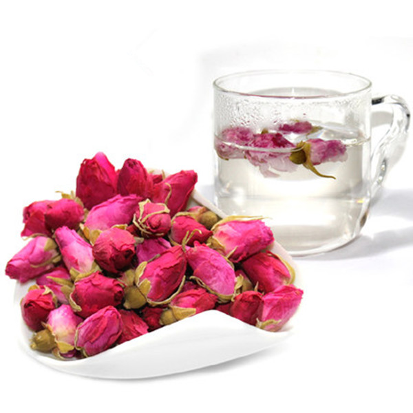 Гаджет  1Pcs Wholesale 50g Organic Red Rose-bud Rose Buds Flower Floral Herbal Dried Health Chinese Tea Anti-Aging Beauty None Еда