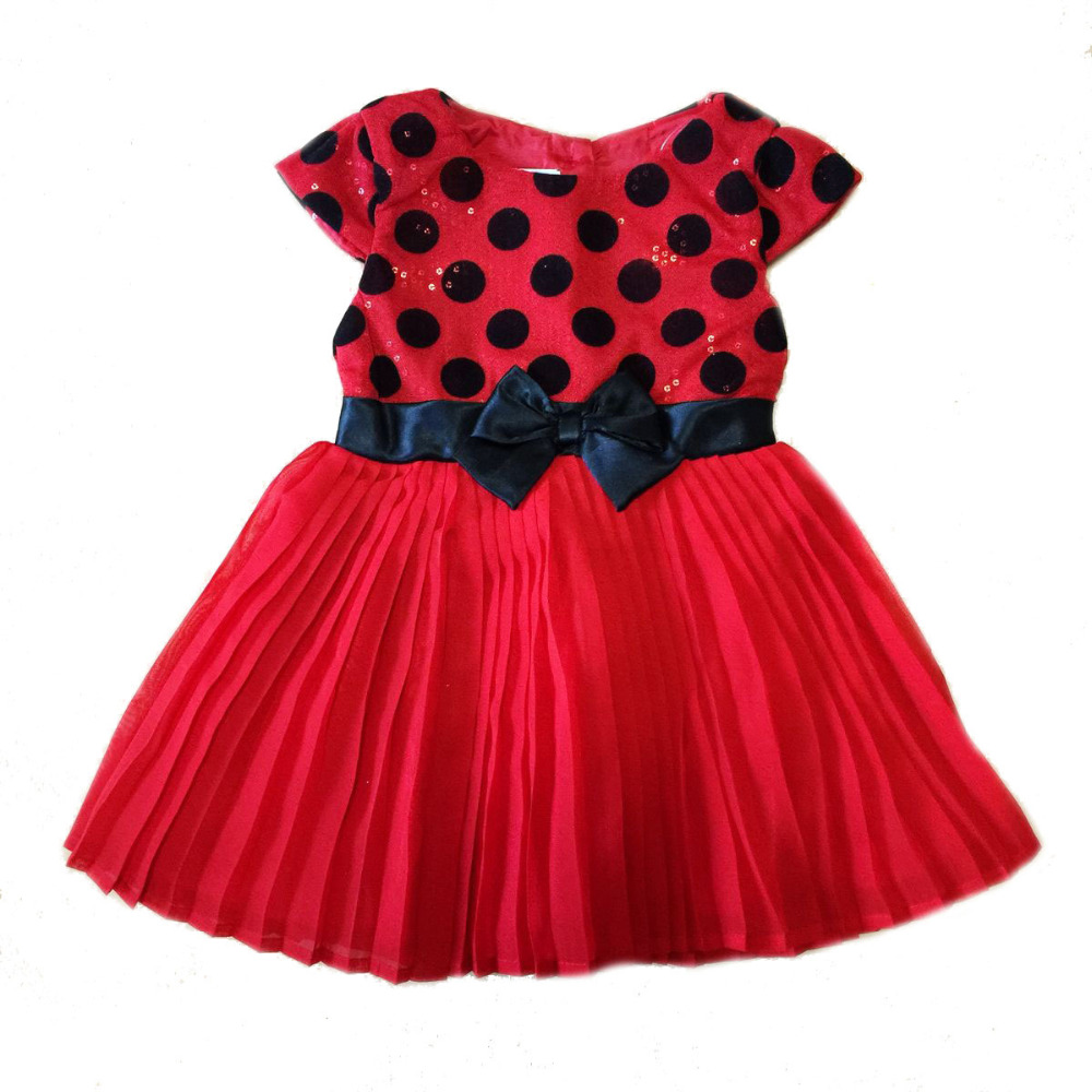 new original brand,4pieces/lot 2-5 baby girls minnie mouse dress with dots,Minnie bling bling dress with sequins for party!