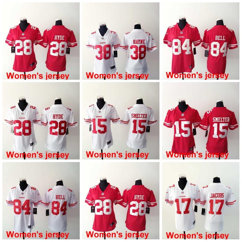 A+++ Women ladies San Francisco 49ers Joe Montana 42 Ronnie Lott 80 Jerry Rice 82 Torrey Smith 81 Anquan Boldin,camouflage(China (Mainland))