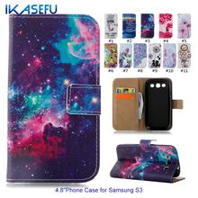 Buy Coque Samsung Galaxy S3 Case Luxury Leather Wallet Flip Case i9300 Cover Fundas SIII I9300 Neo i9301 Duos i9300i Phone Case for $3.79 in AliExpress store