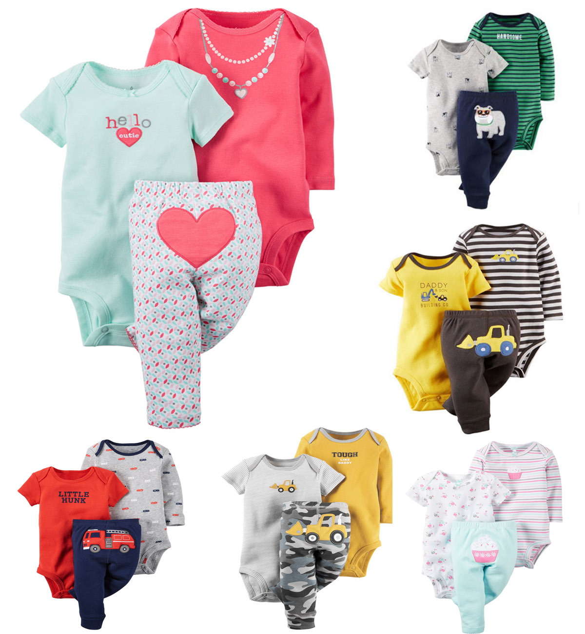 Original casaco infantil Baby Boys Girls Clothings Sets, kids bebe clothes Models (Bodysuits+Pants)Set - Super -Y Store No. 105537 store