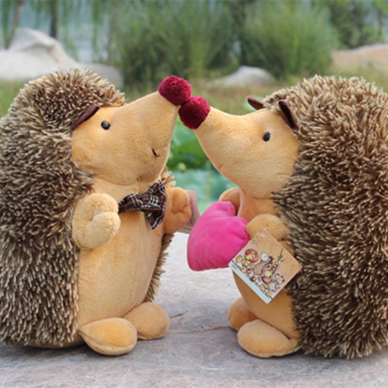 J0106 18cm NICI Cartton Animal Hedgehog Jungle Series Animal Stuffed Doll Plush Toys Christmas Birthday Gifts Random Delivery(China (Mainland))